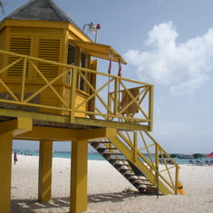 Bridgetown, Barbados - Carlisle Bay lifeguard station