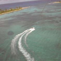 Nassau, Bahamas - View From 100m Above the Water #1