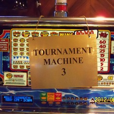 Slot tournament. This is my favorite number. I still lost though.