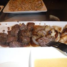 Dinner at Teppanyaki