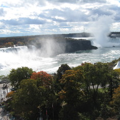Niagara Falls--#1 reason we booked this cruise tour