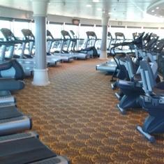 Big workout facility