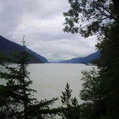 Hiking in Skagway