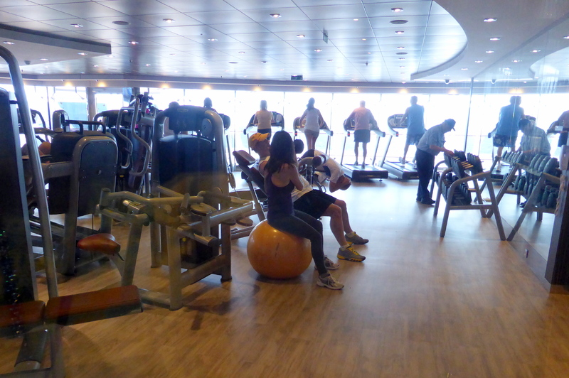 Fitness Center - MSC Divina