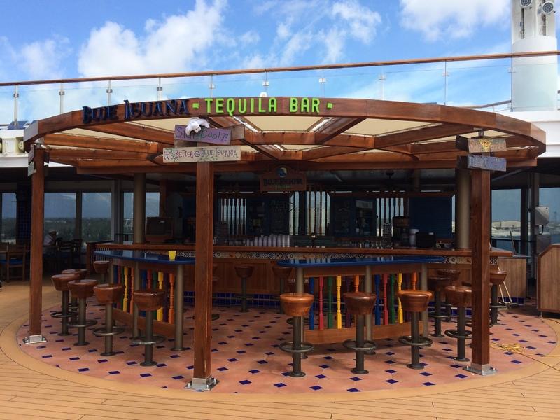 Blue Iguana Cantina - Carnival Sunshine