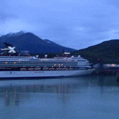 Juneau, Alaska - view from ship