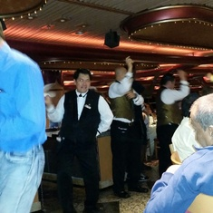 DANCING WITH OUR ELATION WAITERS