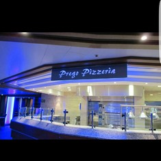 Prego''s Pizzaria on Royal Princess