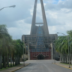 The catholic church in Higuey Dominican Republic