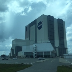 Port Canaveral, Florida - NASA building at KSC