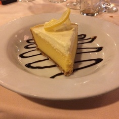 Key Lime Pie in Main Dining Room