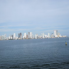 More of Cartagena from our balcony