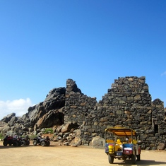 Oranjestad, Aruba - Bushierbana Gold Mill Ruins