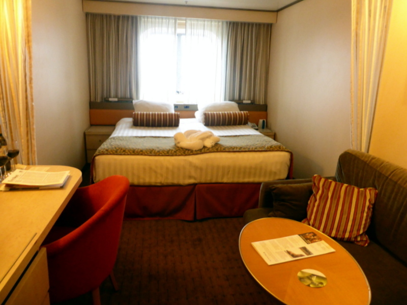 My Ocean View Stateroom - 2595 - Amsterdam