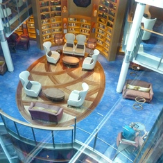 Library from elevator