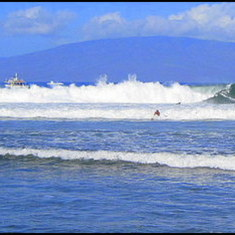 Big Surf in Lahaina