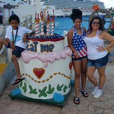 Cozumel, Mexico - birthday celebration