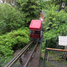 Funicular in Ketchikan
