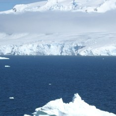 The silent frozen land