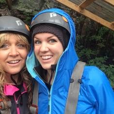 Ziplining in Skagaway!!!