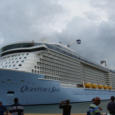 Quantum docked in Martinique
