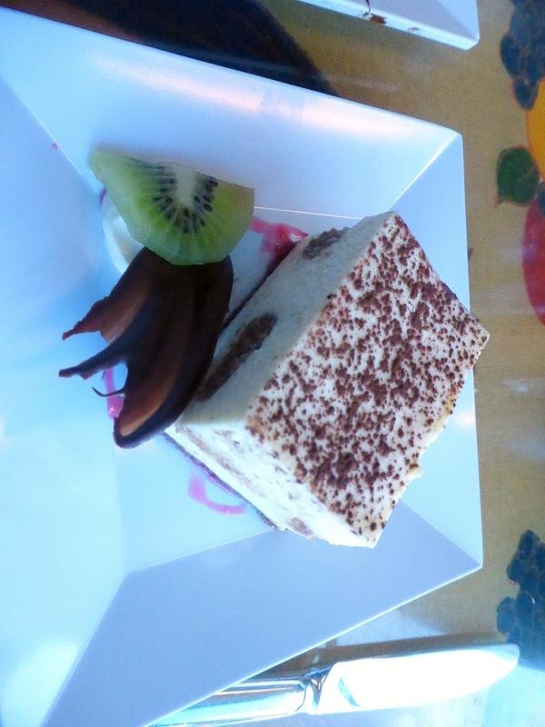 Tiramisu dessert - Amsterdam