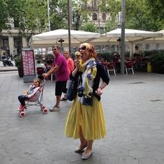 Ice-cream in Barcelona is so delicious