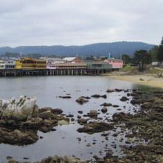 Monterey, California - Monterey Pier