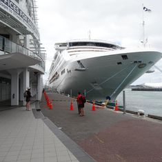 Docked in Auckland