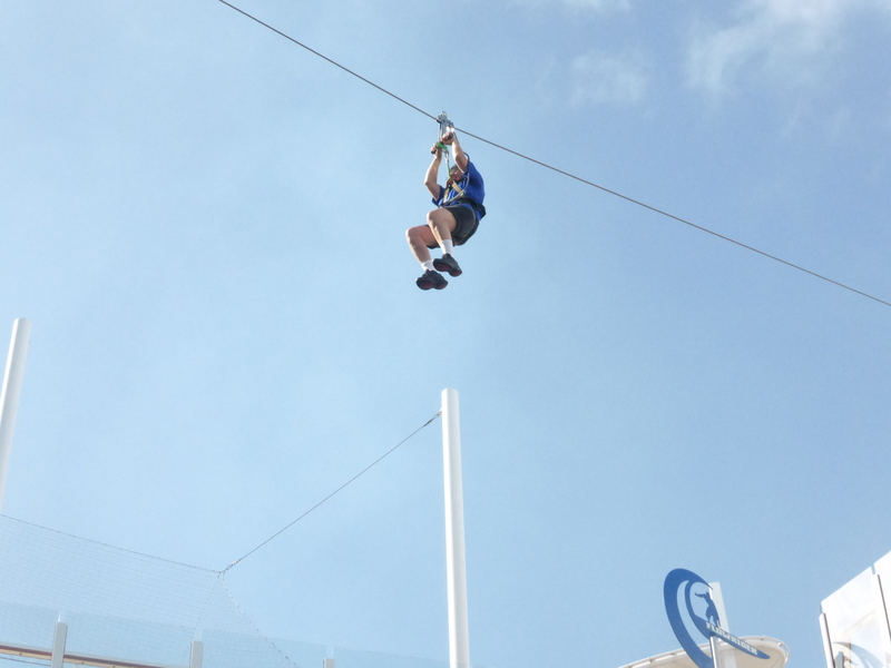 Zipline - Allure of the Seas
