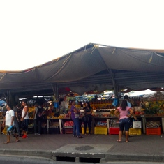 Willemstad, Curacao - Floating Market with Venezuela Vendors