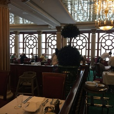 The Versailles dinning room. Very nice.