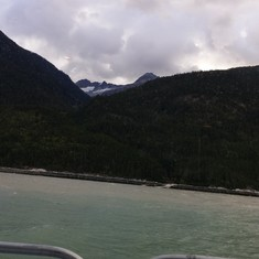 Heading to Haines from Skayway