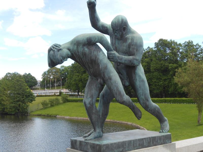 Vigelund Sculpture Park. - Emerald Princess