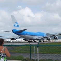 Philipsburg, St. Maarten - Ready for takeoff