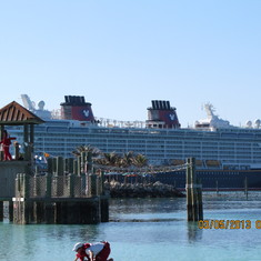 cruise on Disney Dream to Caribbean - Bahamas