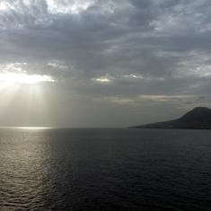 Basseterre, St. Kitts - Balcony view