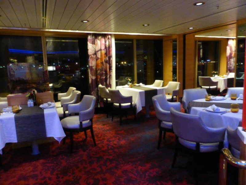 Inside the Canaletto Specialty Restaurant - Lido Deck 8 - Amsterdam