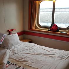 Window in cabin