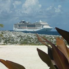 Great Stirrup Cay (Cruiseline Private Island), Bahamas - The Divina from Great Stirrup Cay