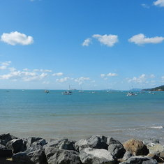Airlie Beach, Queensland, Australia - From Airkie Beach with Rhapsody in the background