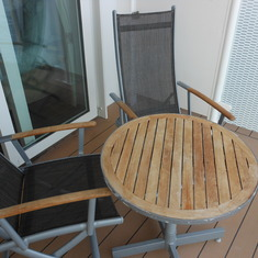 The cosy deck