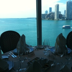 Miami, Florida - View from Aqualina Restaurant