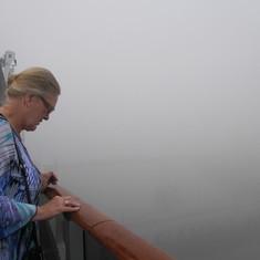 foggy docking