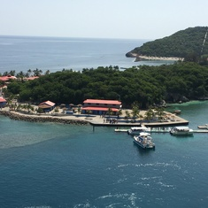 Port of Labadee, Haiti