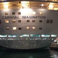 The ship!