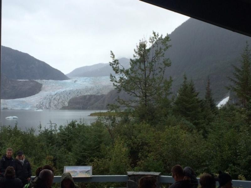 Celebrity Solstice cabin 8200 - Mendenhall glacier