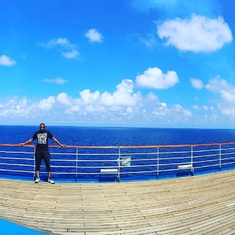 Jogging Track on Carnival Freedom