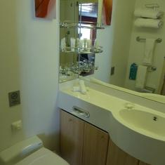 Bathroom (cabin 7001)