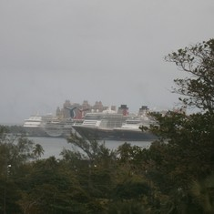 Nassau, Bahamas - A busy day in port